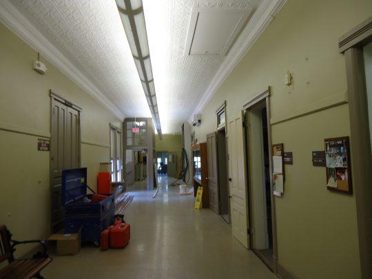 Old Main old hallway